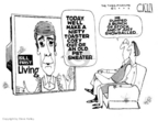 Steve Kelley  Steve Kelley's Editorial Cartoons 2005-10-14 conflict of interest