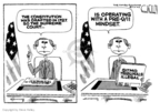 Steve Kelley  Steve Kelley's Editorial Cartoons 2006-06-30 judge