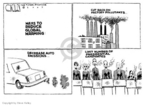 Steve Kelley  Steve Kelley's Editorial Cartoons 2007-01-31 climate change