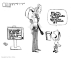 Steve Kelley  Steve Kelley's Editorial Cartoons 2007-04-26 autograph
