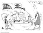 Steve Kelley  Steve Kelley's Editorial Cartoons 2007-11-15 political family