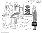 Steve Kelley  Steve Kelley's Editorial Cartoons 2008-02-28 John McCain
