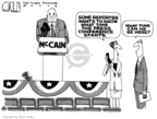 Steve Kelley  Steve Kelley's Editorial Cartoons 2008-07-24 John McCain