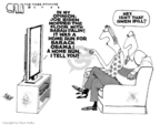 Steve Kelley  Steve Kelley's Editorial Cartoons 2008-10-05 2008 debate