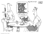 Steve Kelley  Steve Kelley's Editorial Cartoons 2008-10-08 John McCain