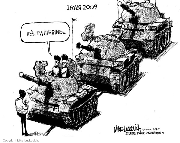 Iran 2009. Hes Twittering �