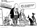 Mike Luckovich  Mike Luckovich's Editorial Cartoons 2009-01-14 retirement