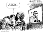 Mike Luckovich  Mike Luckovich's Editorial Cartoons 2009-01-22 Wonder Woman