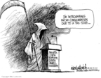Mike Luckovich  Mike Luckovich's Editorial Cartoons 2009-08-12 grim reaper