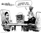Mike Luckovich  Mike Luckovich's Editorial Cartoons 2009-10-02 Iran