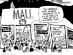 Mike Luckovich  Mike Luckovich's Editorial Cartoons 2009-11-29 holiday shopping