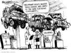 Mike Luckovich  Mike Luckovich's Editorial Cartoons 2010-03-19 automobile accident