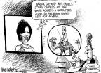Mike Luckovich  Mike Luckovich's Editorial Cartoons 2011-02-09 first lady
