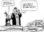 Mike Luckovich  Mike Luckovich's Editorial Cartoons 2011-02-25 Saudi Arabia