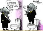 Mike Luckovich  Mike Luckovich's Editorial Cartoons 2011-06-24 2012 election economy