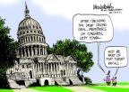Mike Luckovich  Mike Luckovich's Editorial Cartoons 2011-08-07 hill