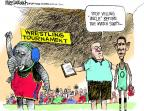 Mike Luckovich  Mike Luckovich's Editorial Cartoons 2011-09-02 yell