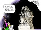 Mike Luckovich  Mike Luckovich's Editorial Cartoons 2011-09-21 capital punishment