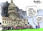 Mike Luckovich  Mike Luckovich's Editorial Cartoons 2011-10-13 democracy