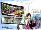 Mike Luckovich  Mike Luckovich's Editorial Cartoons 2011-10-28 first lady