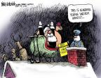 Mike Luckovich  Mike Luckovich's Editorial Cartoons 2011-12-02 anti-immigration