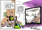 Mike Luckovich  Mike Luckovich's Editorial Cartoons 2012-01-25 state politician