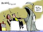 Mike Luckovich  Mike Luckovich's Editorial Cartoons 2012-03-14 grim reaper
