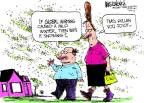 Mike Luckovich  Mike Luckovich's Editorial Cartoons 2012-03-21 climate change