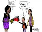 Mike Luckovich  Mike Luckovich's Editorial Cartoons 2012-05-13 first lady