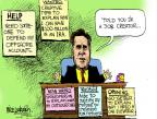 Mike Luckovich  Mike Luckovich's Editorial Cartoons 2012-07-13 spokesperson