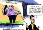 Mike Luckovich  Mike Luckovich's Editorial Cartoons 2012-08-03 Mitt Romney