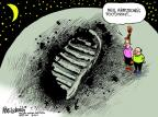 Mike Luckovich  Mike Luckovich's Editorial Cartoons 2012-08-28 astronaut