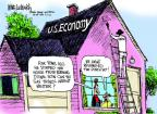 Mike Luckovich  Mike Luckovich's Editorial Cartoons 2012-09-05 2012 election economy