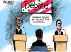 Mike Luckovich  Mike Luckovich's Editorial Cartoons 2012-10-02 Mitt Romney