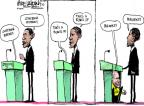 Mike Luckovich  Mike Luckovich's Editorial Cartoons 2012-10-16 Mitt Romney