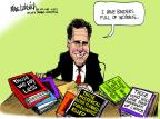 Mike Luckovich  Mike Luckovich's Editorial Cartoons 2012-10-18 Mitt Romney