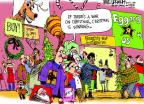 Mike Luckovich  Mike Luckovich's Editorial Cartoons 2012-12-09 holiday shopping