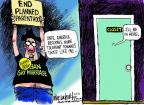 Mike Luckovich  Mike Luckovich's Editorial Cartoons 2013-04-05 rights of women