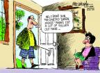 Mike Luckovich  Mike Luckovich's Editorial Cartoons 2013-04-11 allergy
