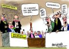 Mike Luckovich  Mike Luckovich's Editorial Cartoons 2013-05-09 testimony