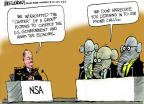 Mike Luckovich  Mike Luckovich's Editorial Cartoons 2013-08-08 national security