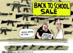 Mike Luckovich  Mike Luckovich's Editorial Cartoons 2013-08-21 assault rifle