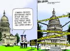 Mike Luckovich  Mike Luckovich's Editorial Cartoons 2013-09-18 assault rifle