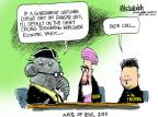 Mike Luckovich  Mike Luckovich's Editorial Cartoons 2013-10-04 North Korea