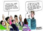 Mike Luckovich  Mike Luckovich's Editorial Cartoons 2013-11-05 Bill Clinton