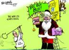 Mike Luckovich  Mike Luckovich's Editorial Cartoons 2013-12-11 holiday shopping