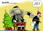 Mike Luckovich  Mike Luckovich's Editorial Cartoons 2013-12-12 procedure