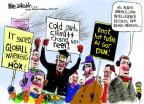 Mike Luckovich  Mike Luckovich's Editorial Cartoons 2014-01-08 climate change