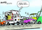 Mike Luckovich  Mike Luckovich's Editorial Cartoons 2014-01-09 state politician