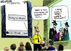 Mike Luckovich  Mike Luckovich's Editorial Cartoons 2014-01-17 national security